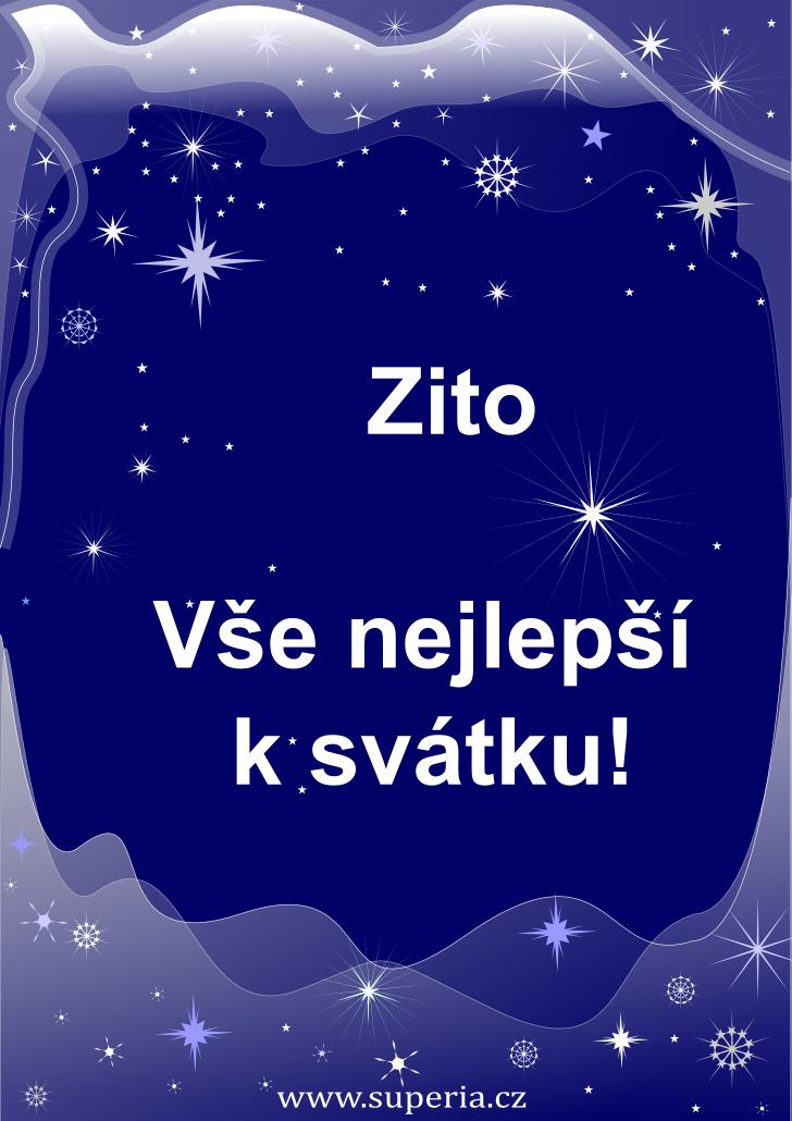 Zita - 19. září 2019 - přání k svátku podle jmen, blahopřání k jmeninám k zaslání emailem