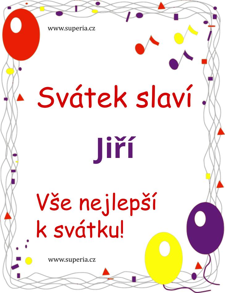 Jiří - 23. duben 2019 - Texty přání k svátku podle jmen