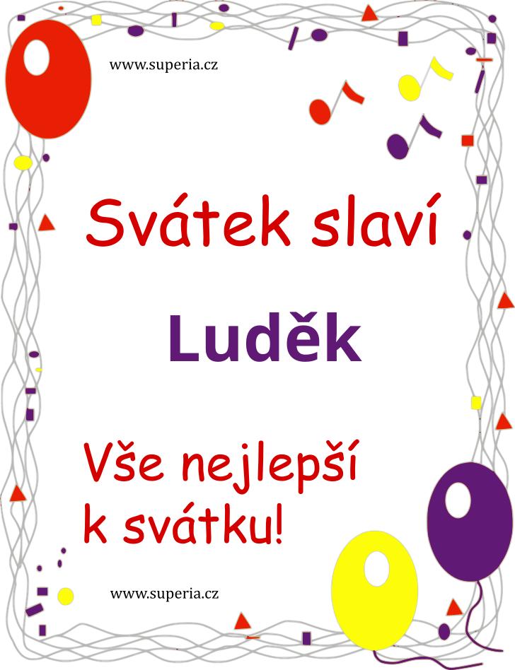 Luděk - 25. srpen 2019 - Přání k jmeninám podle jmen